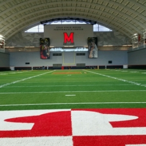 University of Maryland Cole Field House Practice